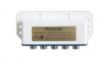 AMIKO PREMIUM - DISEQC SWITCH 4/1 OUTDOOR