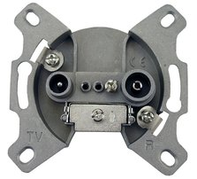 D.S.E Socket TV/FM terminal TS1-T 3,5 dB (10pcs)