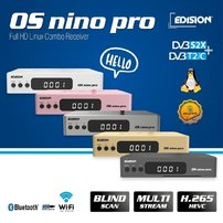 Edision OS Nino PRO S2X T2C Silver