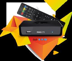 Infomir MAG 275 IPTV BOX