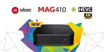 Infomir MAG 410 4K