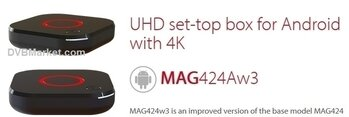 Infomir MAG 424Aw3 IPTV