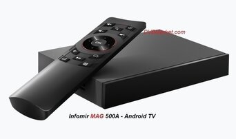 Infomir MAG 500A Android 4K