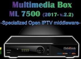 Medialink ML 7500 S2T2 HEVC