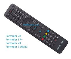 Remote Control Formuler Z8 ZX Z7+ Z Alpha Premium