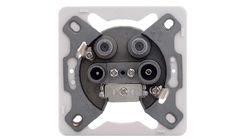 D.S.E Socket TV/2xSAT/FM terminal SS3-2-T (10pcs)